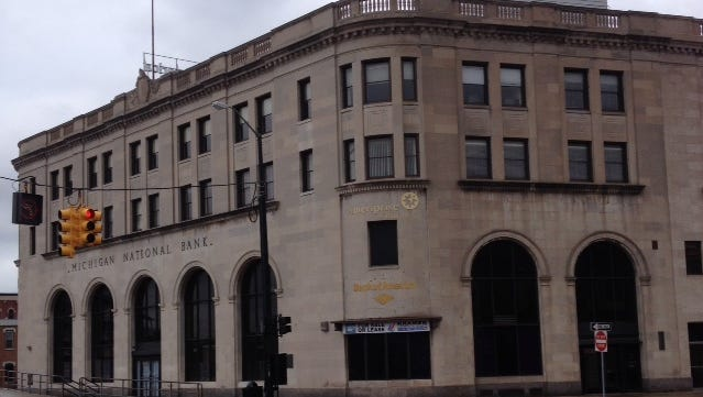 CityFlats Hotel is planning to switch focus to Michigan National Bank for its boutique hotel.