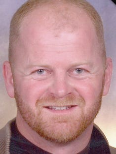 Steve Ackerman, Valley Springs firefighter who died fighting a fire the night of April 12 in Brandon.