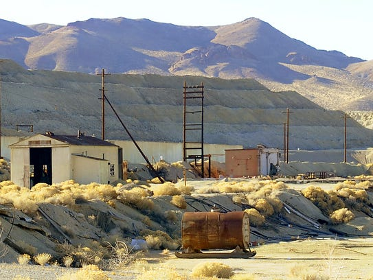 The Anaconda Copper Mine outside Yerington will no