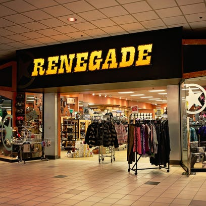 Renegade Western wear is taking this vacant space in the Sears wing at The Empire Mall.