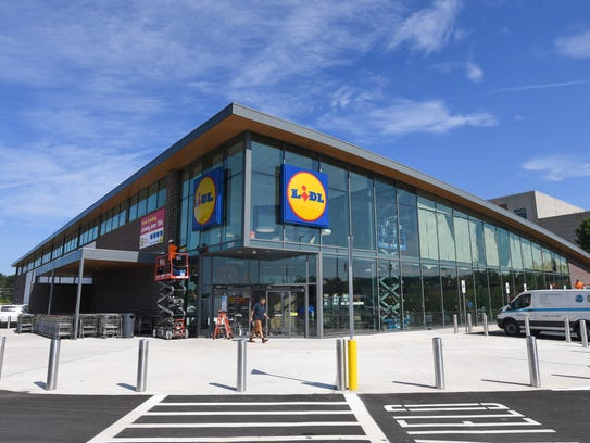 The new Lidl grocery store on Wade Hampton Blvd. in