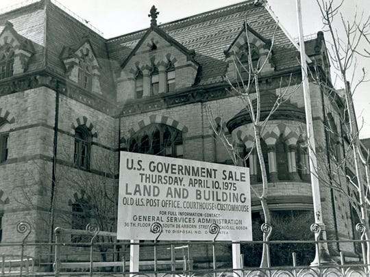 The  Old Post Office went up for sale in April 1975.