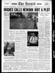 The Record front page from July 15, 1967.