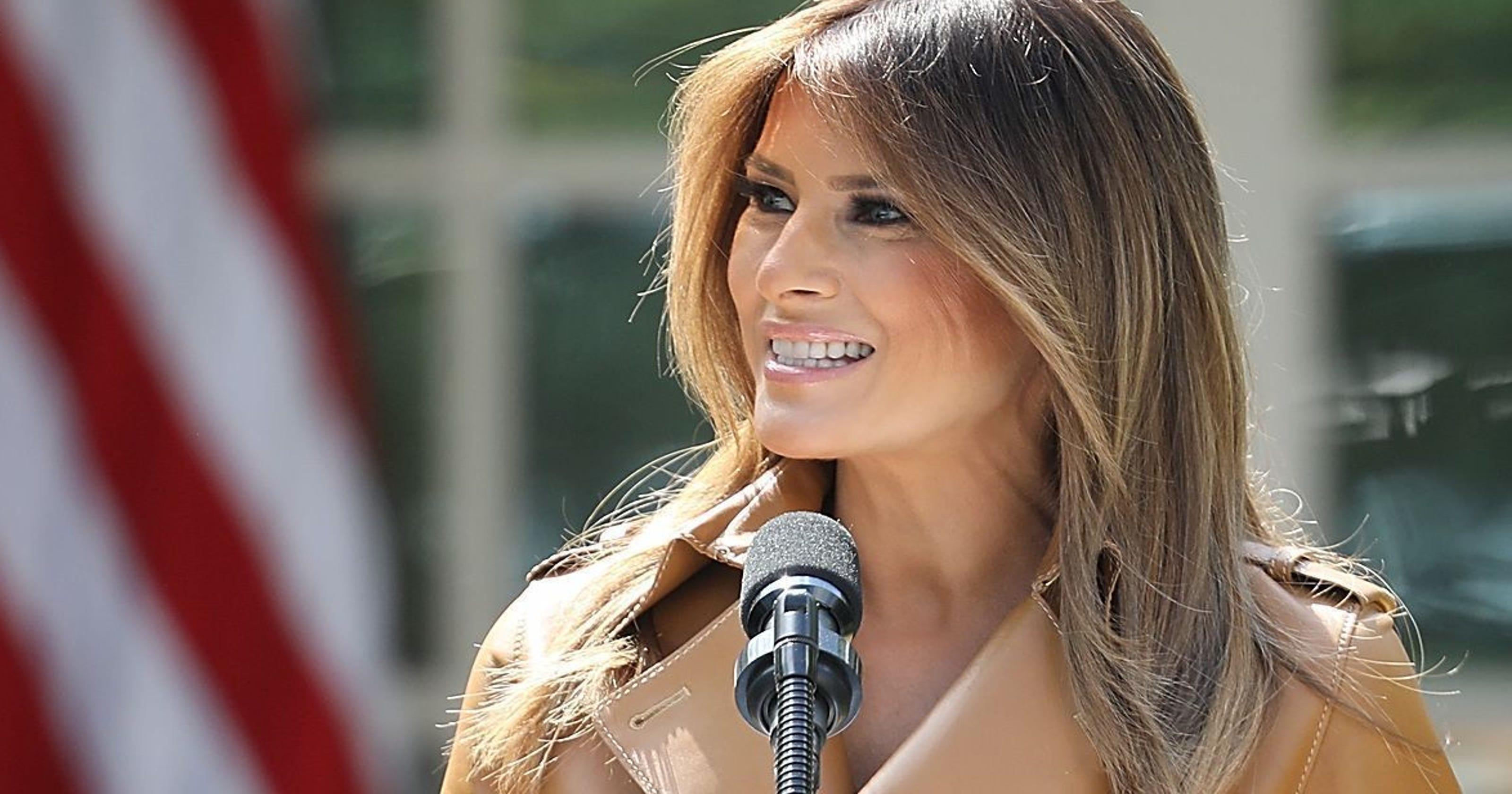 42808e87127 White House defends Melania Trump Be Best plan using Obama-era booklet
