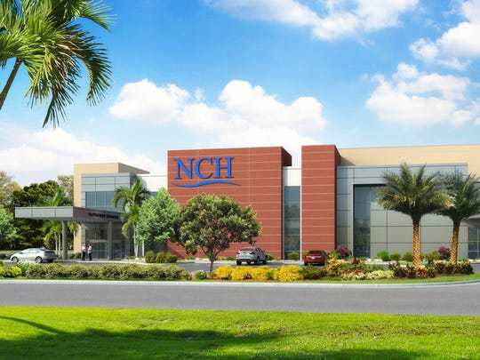 A rendering of NCH Healthcare Bonita, which is expected