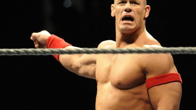WWE star John Cena.