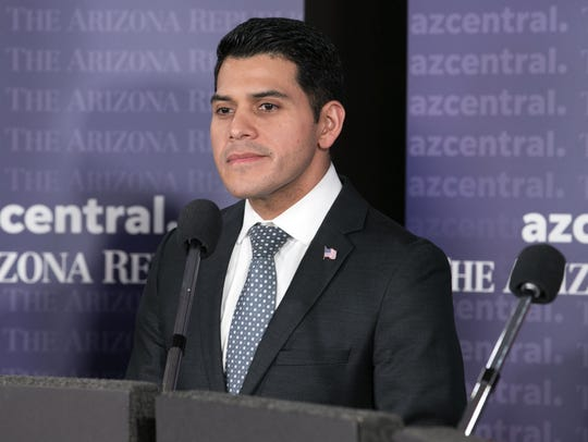 Former State Sen. Steve Montenegro during a Republican