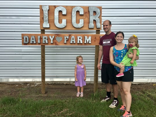 Travel and tourism reporter Leigh Guidry and her family are tackling a new adventure -- local farms. After a trip to an orchard, they visited ICCR Dairy Farms in Church Point on July 8, 2018. Join the fun at theadvertiser.com and on Instagram (@thedailyadvertiser). And tell us the best places to go or any tips! Email lguidry@theadvertiser.com.