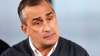 Intel CEO Brian Krzanich.
