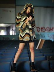 Ashley Reyes poses for JRocket Model Management.