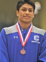 Covington Catholic junior Mannie Murrer was fourth at 138. He was seeded sixth in the region but qualified for state and reached the semifinals on Saturday.