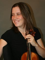 Carrie Holden performs with the Tallahassee Bach Parley.