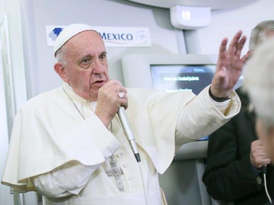 Vatican Pope Zika