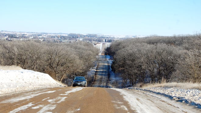 Maple Street between Sioux Falls and Brandon has seen traffic counts triple in five years, according to Minnehaha County estimates.