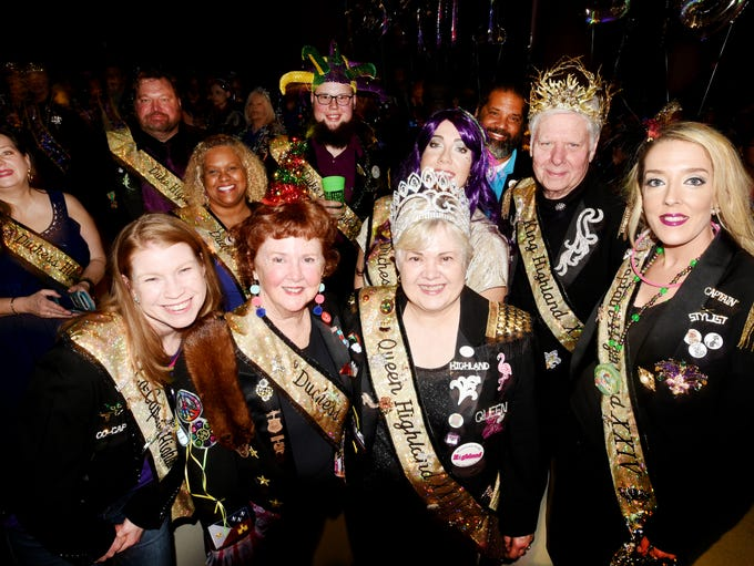 Krewe of Centaur hosted the 12th Night celebration