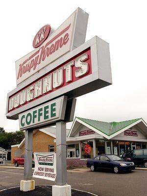 Krispy Kreme on Bardstown Road at Gardiner Lane.-