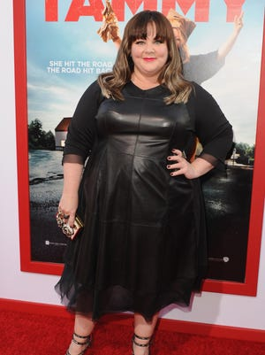 """Actress Melissa McCarthy arrives at the Los Angeles premiere of """"Tammy"""" at TCL Chinese Theatre on June 30, 2014, in Hollywood."""
