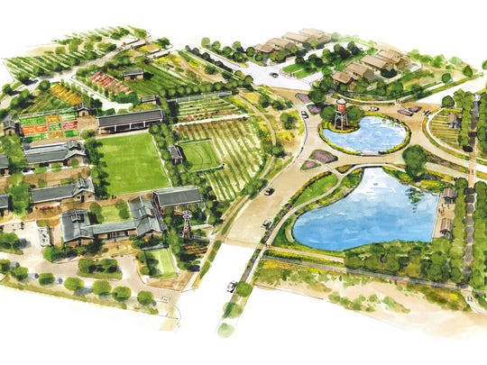 Renderings of Ahwatukee Farms lay out the vision of