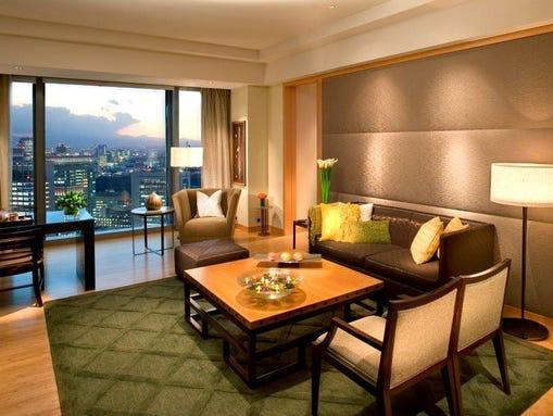 Mandarin Oriental, Tokyo_ORIENTAL SUITE_ Living Room