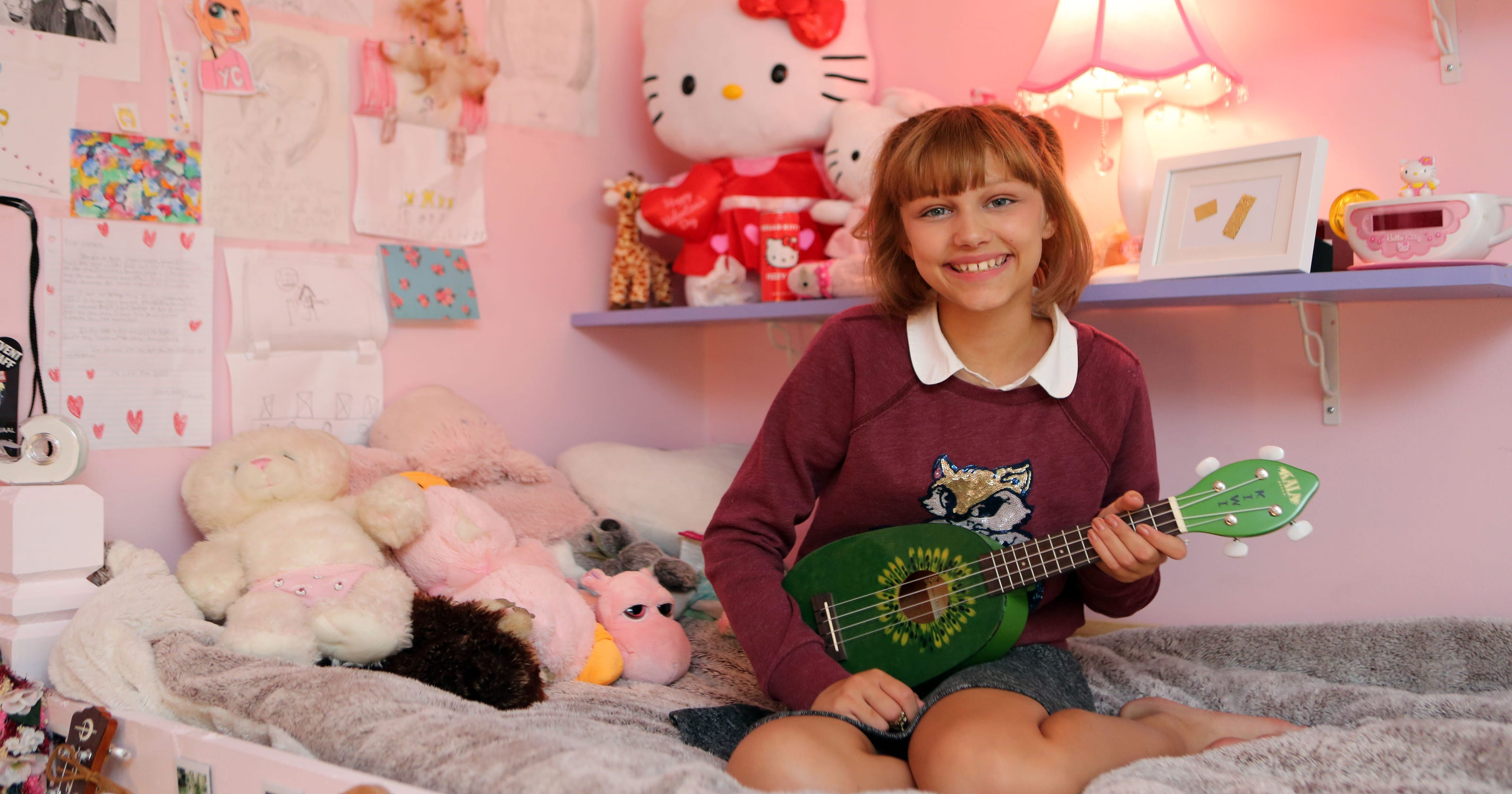 Grace VanderWaal is in L A  for her next 'AGT' appearance