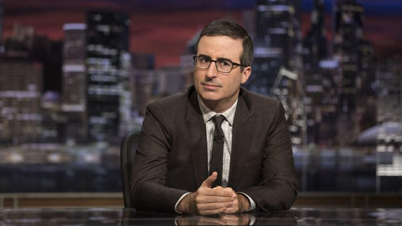 John Oliver has got a song for President Trump.