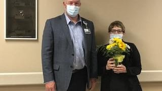 HaysMed, part of The University of Kansas Health System, recently recognized Carolyn Terry, Patient Care Technician (PCT) with the PCT of the Year award.