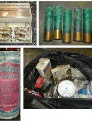 Examples of hazardous waste collected by Leon County include mercury-containing thermostats, unwanted ammo, old batteries, and miscellaneous lawn chemicals.
