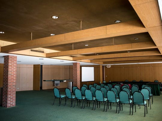 The Memorial Room at McMorran Place will be converted into a sports bar.