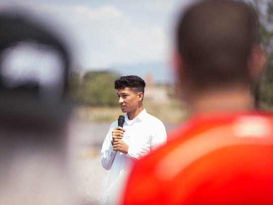 Brandon, 20, a DACA recipient, talks about the Trump Administration's decision to end Obama-era immigrant protections known as the Deferred Action for Childhood Arrivals on Sept. 5.