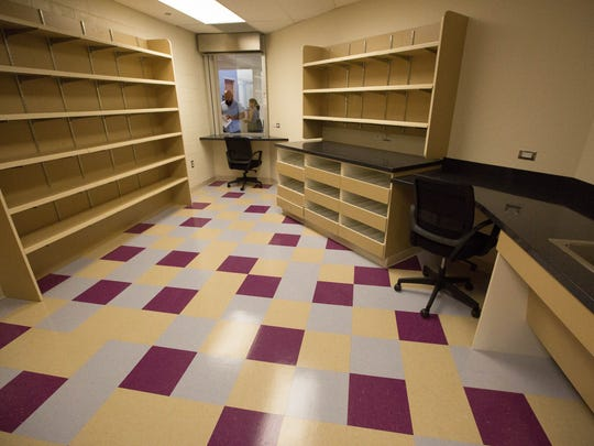 The pharmacy of the newly remodeled Amador Health Center,