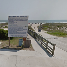 A man drowned in the waters off Amelia Island Tuesday evening, according to the Nassau County Sheriff's Office.