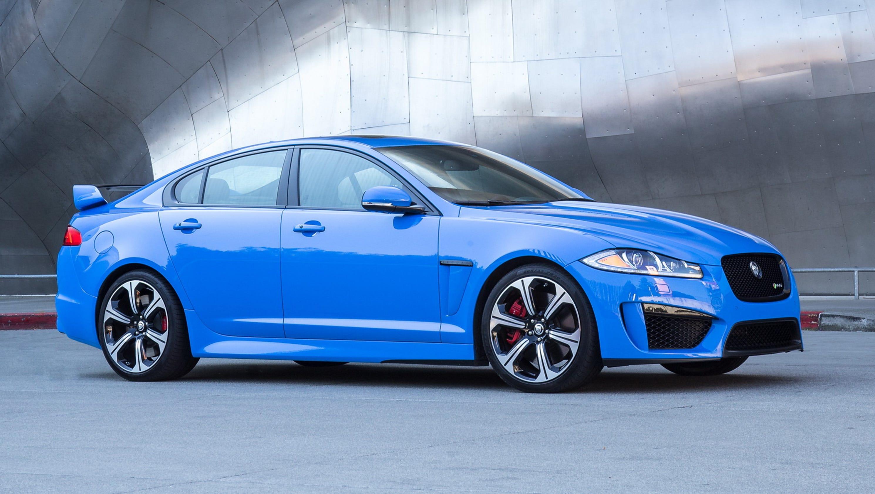car driving jaguar preview new sedan xf