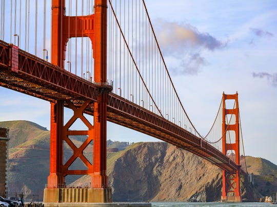Spanning 4,200 feet, this famous suspension bridge connecting San Francisco and Marin County is one of the most stunning landmarks in the world. Travelers can take in the breathtaking views of the bridge and bay with a leisurely walk across or on one of numerous popular bike tours.