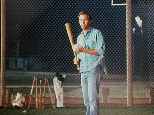 "Kevin Costner in the movie ""Field of Dreams"""