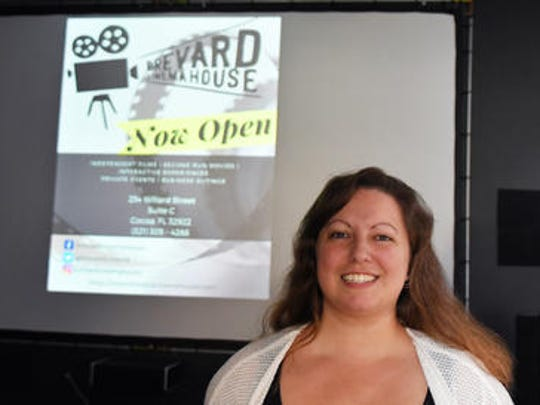 Owner Cassandra Garner. Brevard Cinema House plans
