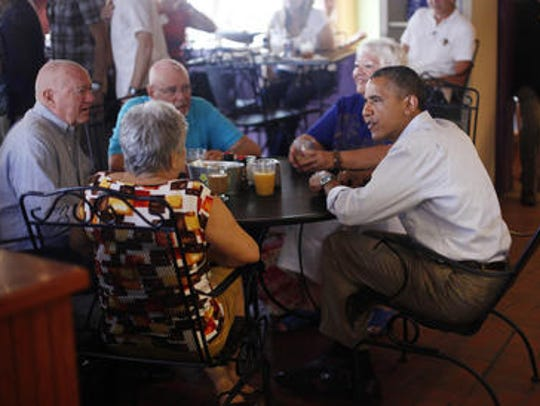 President Barack Obama visited Ossorio in September