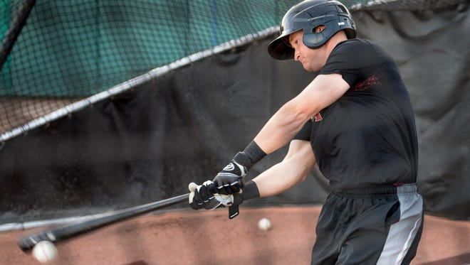 Visalia Rawhide's Camden Duzenack is one of 16 players who is returning from last season's team.