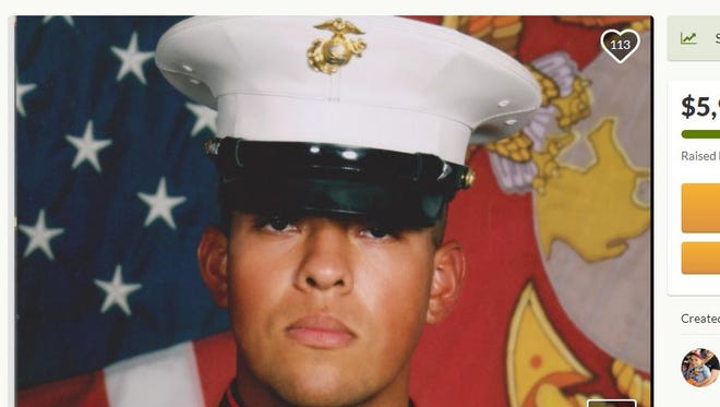 "Marine Corporal Alejandro ""Alex"" Romero died Jan. 22, 2018, in a parachuting accident during a training operation in Arizona."