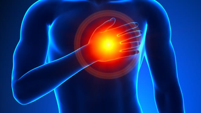 Congestive heart failure does not mean that the heart has stopped beating, but rather that it is not pumping efficiently.