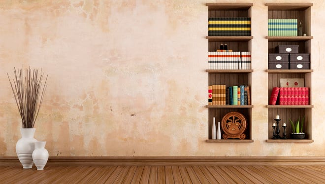 For easy storage, consider built-in bookcases.