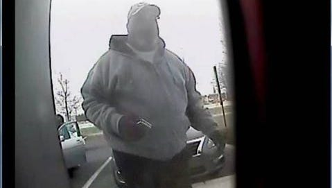 Police believe this man used a skimming device at an ATM in Willingboro.