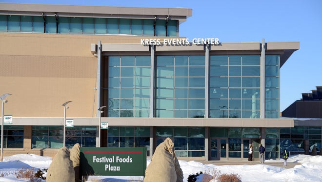 Kress Events Center at UW-Green Bay.