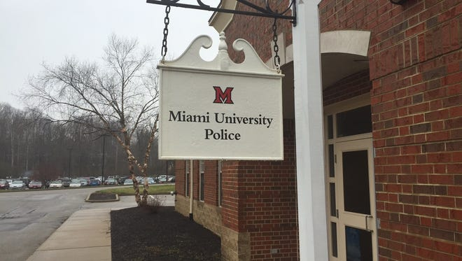 Miami University Police Department in Oxford.