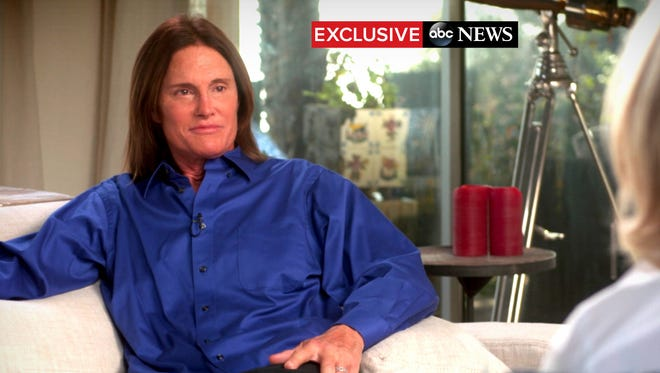 Bruce Jenner sits down with ABC News anchor Diane Sawyer for a two-hour interview.