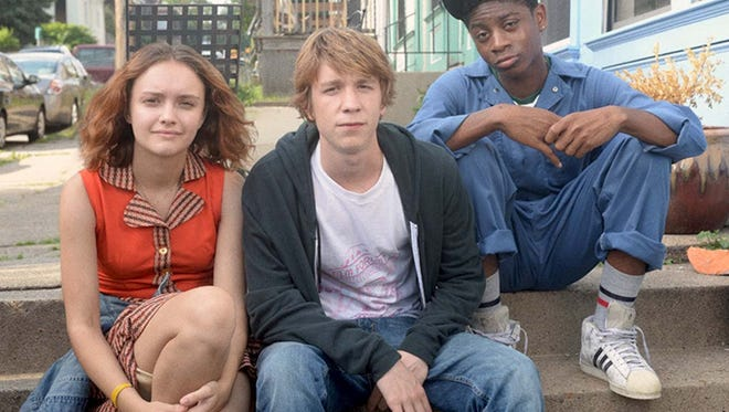 "Olivia Cooke, Thomas Mann and RJ Cyler stars as the titular trio in ""Me and Earl and the Dying Girl."""