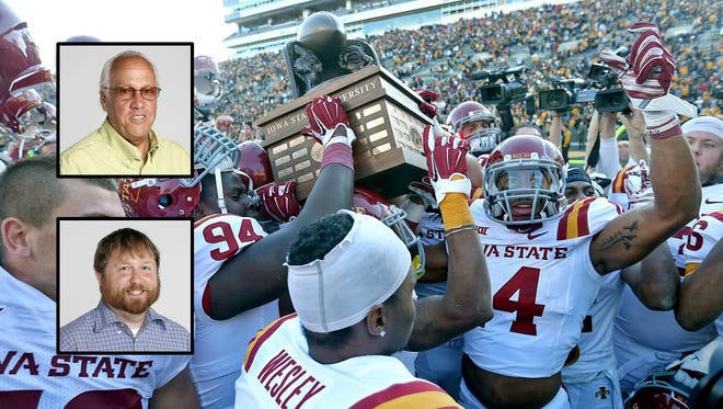 The Cyclones last claimed the Cy-Hawk trophy in 2014. Can they do it again Saturday?