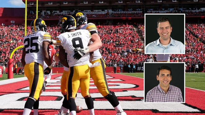 The Hawkeyes won at Rutgers but Iowa faces big challenges heading into Saturday's game against Northwestern.