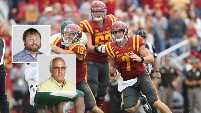 The Cyclones suffered a heartbreaking loss against Baylor Saturday. They face Oklahoma State this week.