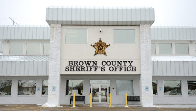 Brown County Sheriff's Department offices in Bellevue.