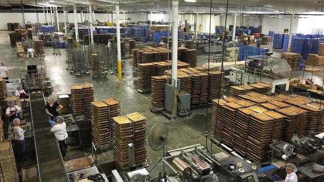 Inside Svenhard's Exter operation plant.